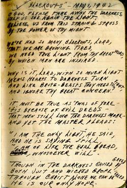 Blackouts – Poem1942