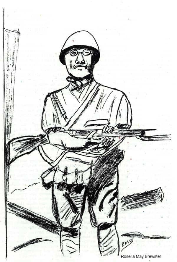 Soldier - Illustration by Rosella Brewster