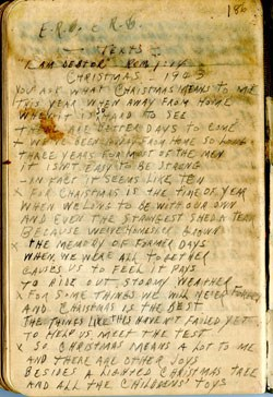 Christmas Poem – 1943