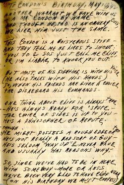 Condon's Birthday 1942