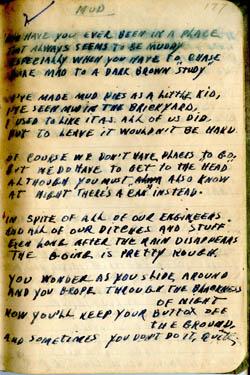 Mud – Poem WWII – Earl Brewster