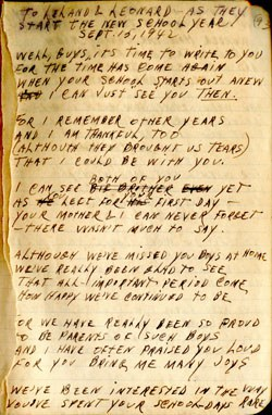 To Leland and Leonard – Earl Ray Brewster