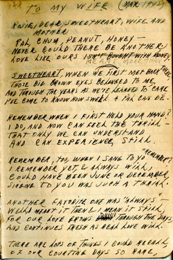 To Rosella Brewster – Earl Ray Brewster