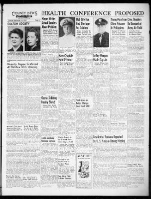 Earl Ray Brewster - San Bernardino Sun article